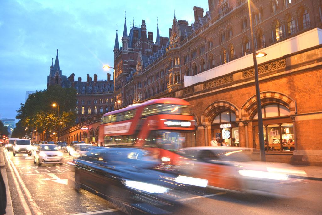 st. pancras station harry potter London