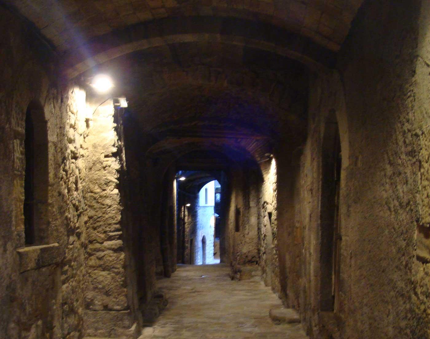 Auténticas calles medievales de Cataluña