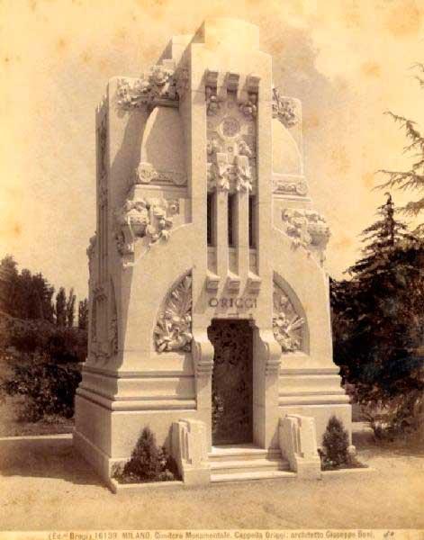 Panteón Origgi. Giuseppe Boni